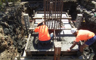 piling and piering