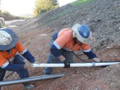 Sub soil drainage